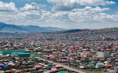 The Ger District of Ulaanbaatar