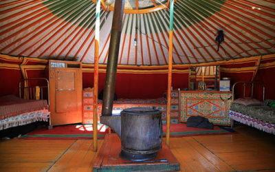 What Is Inside a Mongolian Ger / Yurt?