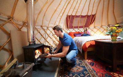 Furniture Inside Mongolian Ger / Yurt
